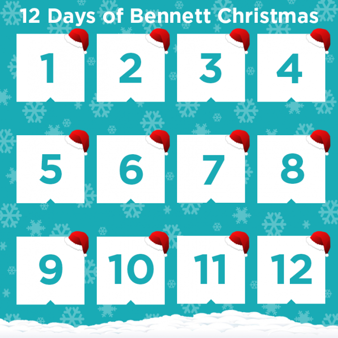 12 DAYS OF BENNETT CHRISTMAS