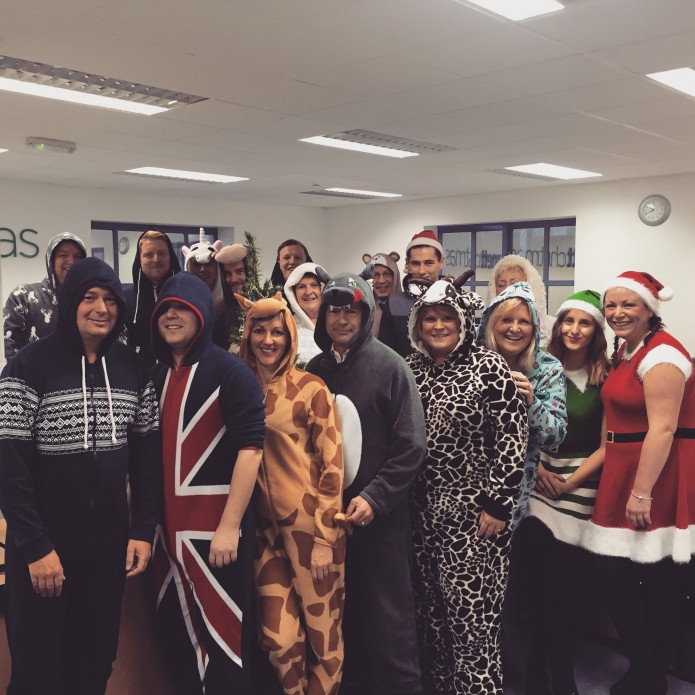 GREAT EFFORT FOR CHARITY BY STAFF!