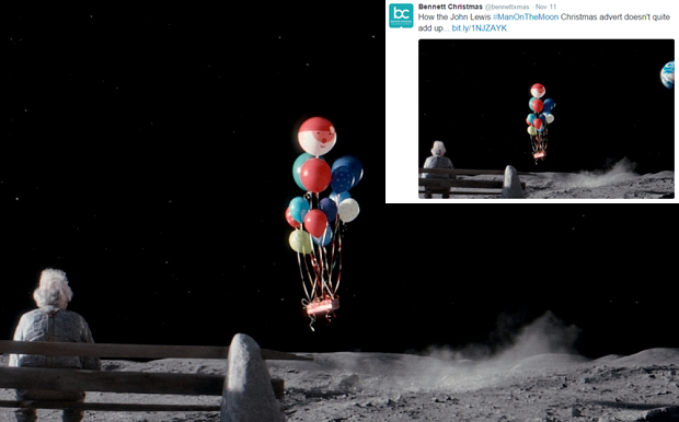 HOW THE JOHN LEWIS ADVERT NOW MAKES SENSE…
